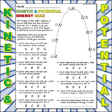 Worksheet: Kinetic Vs Potential Energy 1