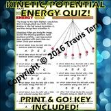 Worksheet: Kinetic Vs Potential Energy 3