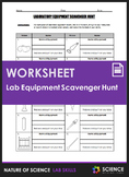 Worksheet - Lab Equipment Scavenger Hunt