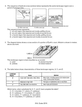 Worksheet - Landscape Regions *Editable*