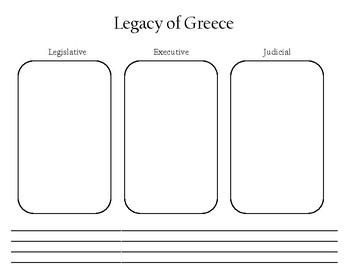 Worksheet: Legacy of Greece