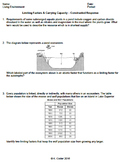 Worksheet - Limiting Factors & Carrying Capacity CR *EDITABLE*