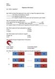 Magnetism - Worksheet | Distance Learning
