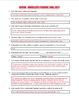 Worksheet - Mendeleev's Periodic Table of Elements