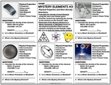 Worksheet: Mystery Elements and Their Density Version 3
