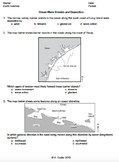 Worksheet - Ocean Wave Erosion and Deposition *Editable*