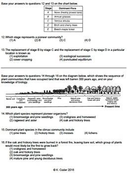 Worksheet - Old Field Succession *EDITABLE*