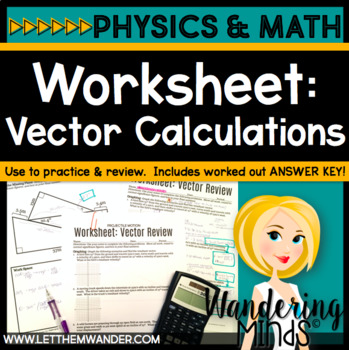 Worksheet: Physics Vector Review