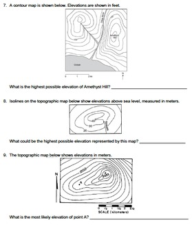 Worksheet - Possible Elevations *Editable*
