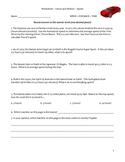Middle School Physical Science Worksheet - Speed Formula Practice
