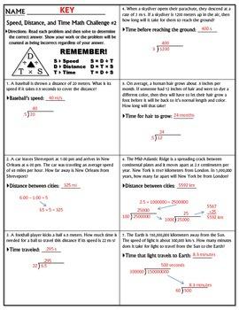 Worksheet: Speed Math Challenge Version 1