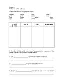 Worksheet Stem Changing Verbs Spanish 1 or 2