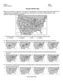 Worksheet - Synoptic Weather Map *Editable*