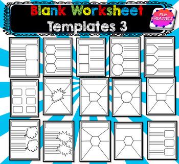 Worksheet Templates 3