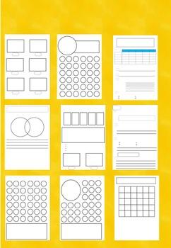 Worksheet Templates Bundle