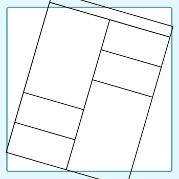 Worksheet Templates / Layouts 6 Clip Art Pack for Commercial Use