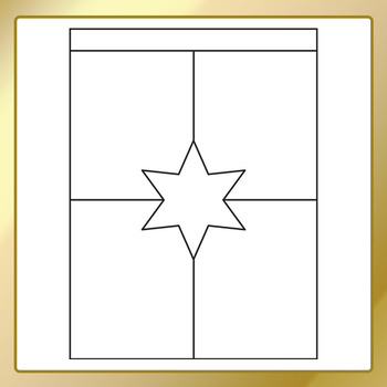 Worksheet Templates / Layouts Star Space Clip Art Commercial Use