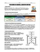 Worksheet - The Nature of Science and the Scientific Method