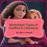Worksheet Types of Conflict in Literature
