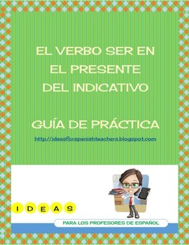 Worksheet Verbo SER PDF
