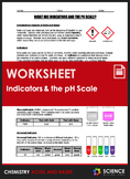 Worksheet - What are Acid Base Indicators and the pH Scale?
