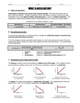 Worksheet - What is Acceleration?