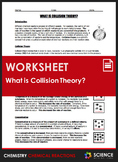 Worksheet - What is Collision Theory? (Rates of Reaction)