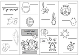 Worksheet easter primary