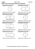 Worksheet for 1.G.3-2.2 - Divide circles and rectangles into four equal shares