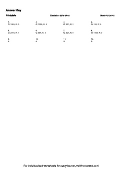 Worksheet for 5.NBT.7-4.1 - Find whole-number quotients and remainders with up
