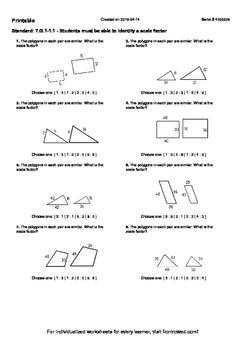 Worksheet for 7.G.1-1.1 - Students must be able to identify a ...