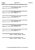 Worksheet for 7.G.5-1.0 - Use facts about supplementary, complementary, vertical