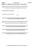 Worksheet for 8.F.4-1.4 - SWBAT quantify the rate of change in a function, and i