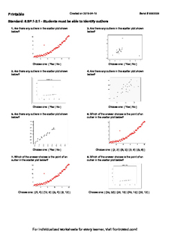 Ideas of Mean Median Mode Range Outlier Worksheets With Sample ...