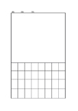 Worksheet for Chinese writing and drawing