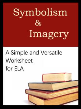 Worksheet for ELA, Versatile Tool. What is symbolism? Identify symbols & meaning