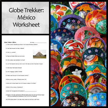 Worksheet for Globe Trekker Video on Mexico and Belize