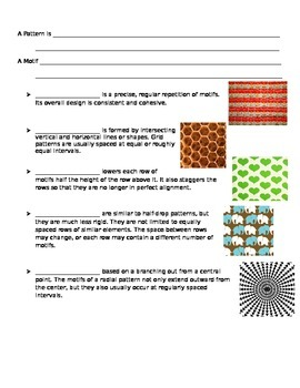 Worksheet for Line Patter Oaxaca Carving Power Point