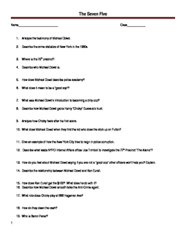 Worksheet for the documentary The Seven Five