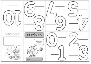 Worksheet numbers primary