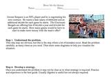 Worksheet on 4 step Problem Solving with Algebraic Word Problems