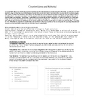 Worksheet on Counterclaim and Rebuttal - NYS Common Core Regents