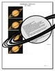 Planets Worksheet Organizer