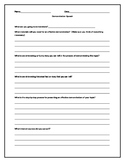 Worksheet to Help Prepare for a Demonstration Speech