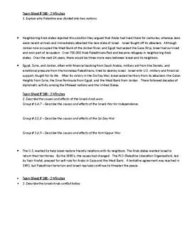 Worksheet to accompany Global Aim # 100