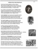 Worksheets (20 thru 29) - Jamestown, Pilgrims, Puritans, Colonies
