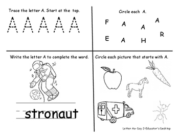 Worksheets Complete Alphabet Year Long Study Phonics Writing