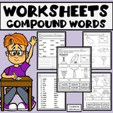 Compound Words Worksheets Print and Go