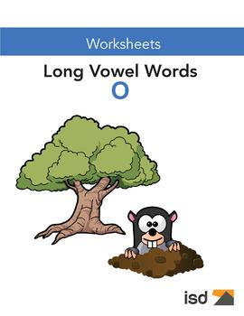 Worksheets - Long Vowel Sounds O - Gr 1-2
