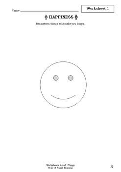 Worksheets for MR. HAPPY - Roger Hargreaves - Picture Book - Mr Men Series